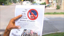Anti-immigration flyers circulating in Brampton