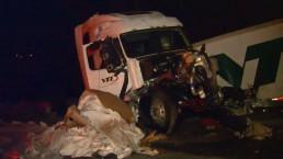 Multi-vehicle crash on Hwy. 401 near Trafalgar Rd.