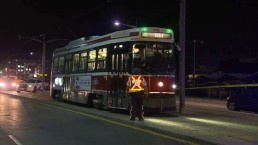 Man struck by streetcar in Toronto's west end