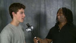 Teen pop artist Shawn Mendes chats about hit single 'Life of the Party'