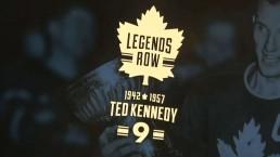 Toronto Maple Leafs unveil Legends Row