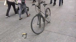 Did Brookfield break the law by removing bikes from public property?