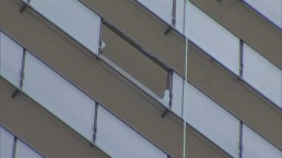 What's making glass fall from Toronto high-rises?