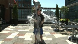 Scott Moore takes on Ice Bucket Challenge