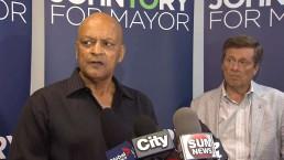 Spider Jones supports John Tory's bid for mayor
