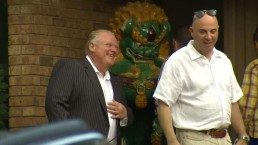Rob Ford holds fundraiser at mother's Etobicoke home