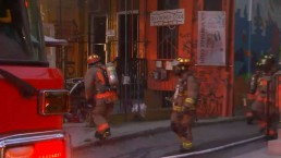 Crews battle fire in Kensington Market