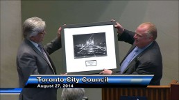 Mayor Ford pays tribute to retiring city manager Joe Pennachetti