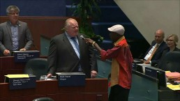 RAW: Mayor Ford & councillors dance to reggae music at city hall