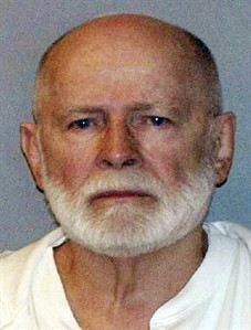 """FILE - This June 23, 2011 file photo shows a booking photo provided by the U.S. Marshals Service shows James """"Whitey"""" Bulger, captured in Santa Monica, Calif., after 16 years on the run. Attorneys for the former Boston crime boss say they expect to file an appeal Thursday Aug. 14, 2014 of the convictions that sent him to prison for life. The 84-year-old Bulger was convicted last year in a broad racketeering case, including 11 killings and other gangland crimes in the 1970s and 80s. (AP Photo/U.S. Marshals Service, File)"""