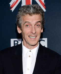 """Actor Peter Capaldi attends BBC America's """"Doctor Who"""" premiere fan screening at the Ziegfeld Theatre on Thursday, Aug. 14, 2014, in New York. (Photo by Evan Agostini/Invision/AP)"""