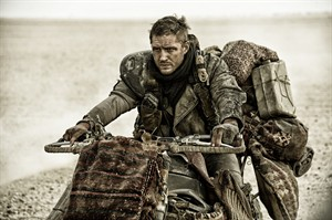 "This photo released by Warner Bros. Pictures shows Tom Hardy as Max in a scene from the film, ""Mad Max: Fury Road."" The film releases in the U.S. on May 15, 2015. (AP Photo/Warner Bros. Pictures, Jason Boland)"