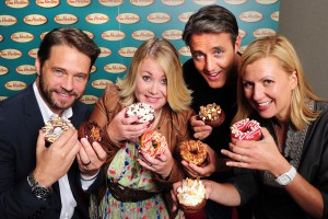 Tim Hortons Duelling Doughnuts contest