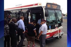 TTC shuttle bus