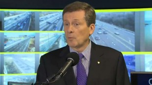 Mayor Tory unveils 6-point plan to fight gridlock in Toronto