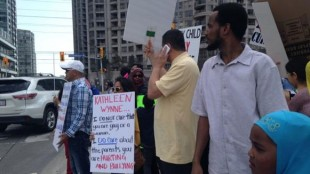 sex-ed protest