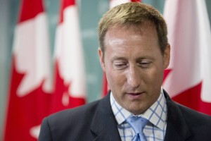 Justice Minister Peter MacKay attends a news conference in Toronto on Wednesday Aug. 14, 2013. THE CANADIAN PRESS/Chris Young