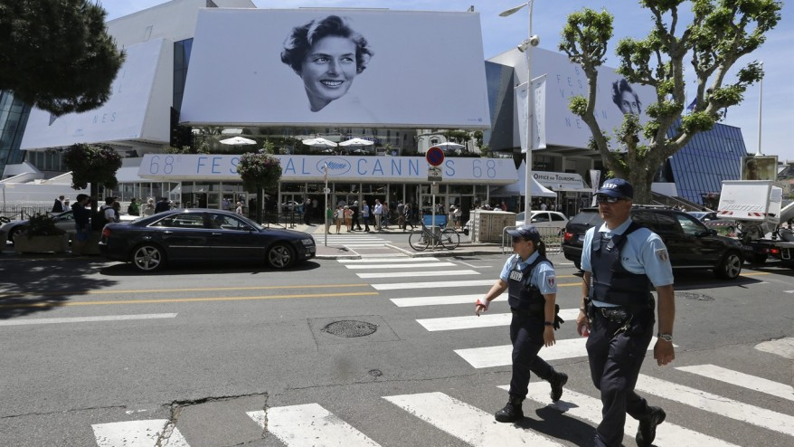 Behind the glamour cannes 39 tight security guards against for Police cannes