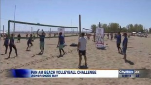 Pan Am beach volleyball