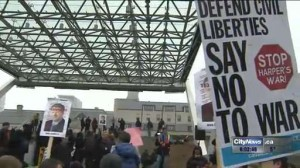 Demonstrators rally to 'kill Bill C-51'
