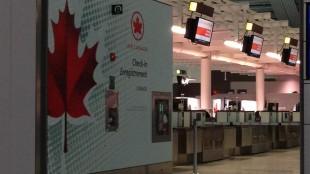 Air Canada check in Pearson