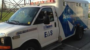 Toronto ambulance, CITYNEWS/Bert Dandy