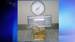 The CBSA announced the seizure of over 12 kg of suspected cocaine at Toronto Pearson International Airport  on Monday, May 25, 2015. (HANDOUT)