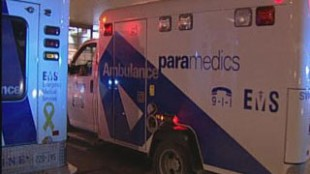 An ambulance is shown in Toronto in an undated file photo. CITYNEWS