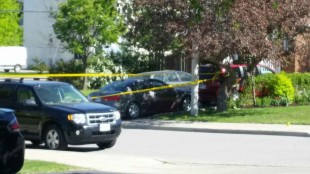 Peel police are investigating after an altercation in Streetsville on Saturday, May 23, 2015.