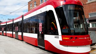 The TTC's new streetcars feature low floors, air conditioning and double the capacity of the older vehicles. HANDOUT/TTC