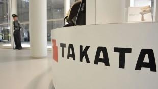 Tokyo Takata Corp. display at a showroom in Tokyo, Japan, on May 20, 2015. NurPhoto/REX Shutterstock