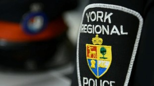 A York Regional Police badge is shown in a 2014 file photo. CITYNEWS
