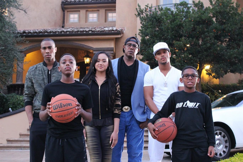 Image result for Romeo Miller family