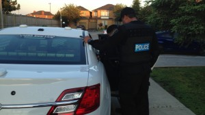 Police conduct an early-morning raid in Vaughan, June 2, 2015. CITYNEWS