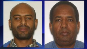 (Right to left) Toronto police name two persons of interest -- Kebreab Ashame, 34, and Deriba Wakene, 55 -- in fatal hit-and-run investigation. HANDOUT/Toronto Police Service