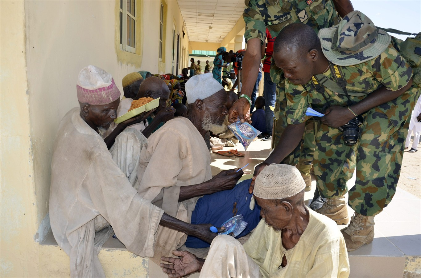 nigeria frees 71 people, mostly women, girls, from boko haram, hold