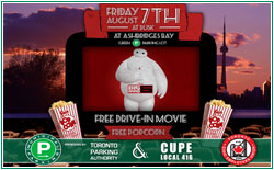 Green P and CUPE Local 416 Present FREE MOVIE NIGHT! @ Toronto   Ontario   Canada