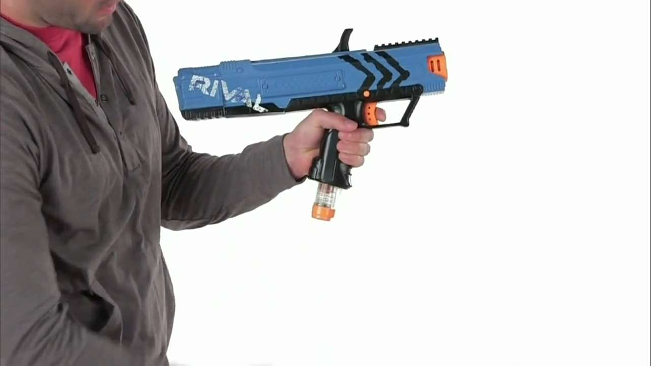 Video: New Nerf Rival Apollo blaster unveiled