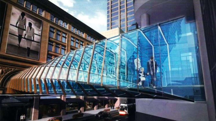 Eaton Centre To Get New Pedestrian Bridge For Saks Arrival