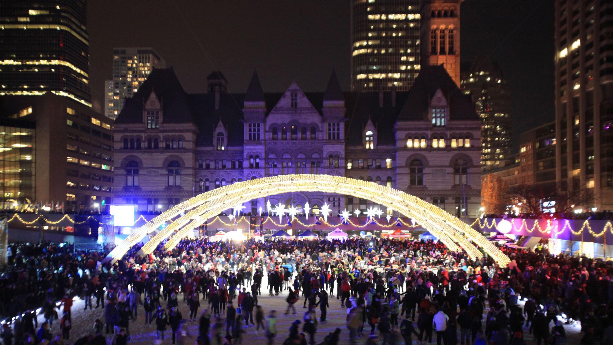 Christmas Wonderland: Toronto Lights Up For The Holiday