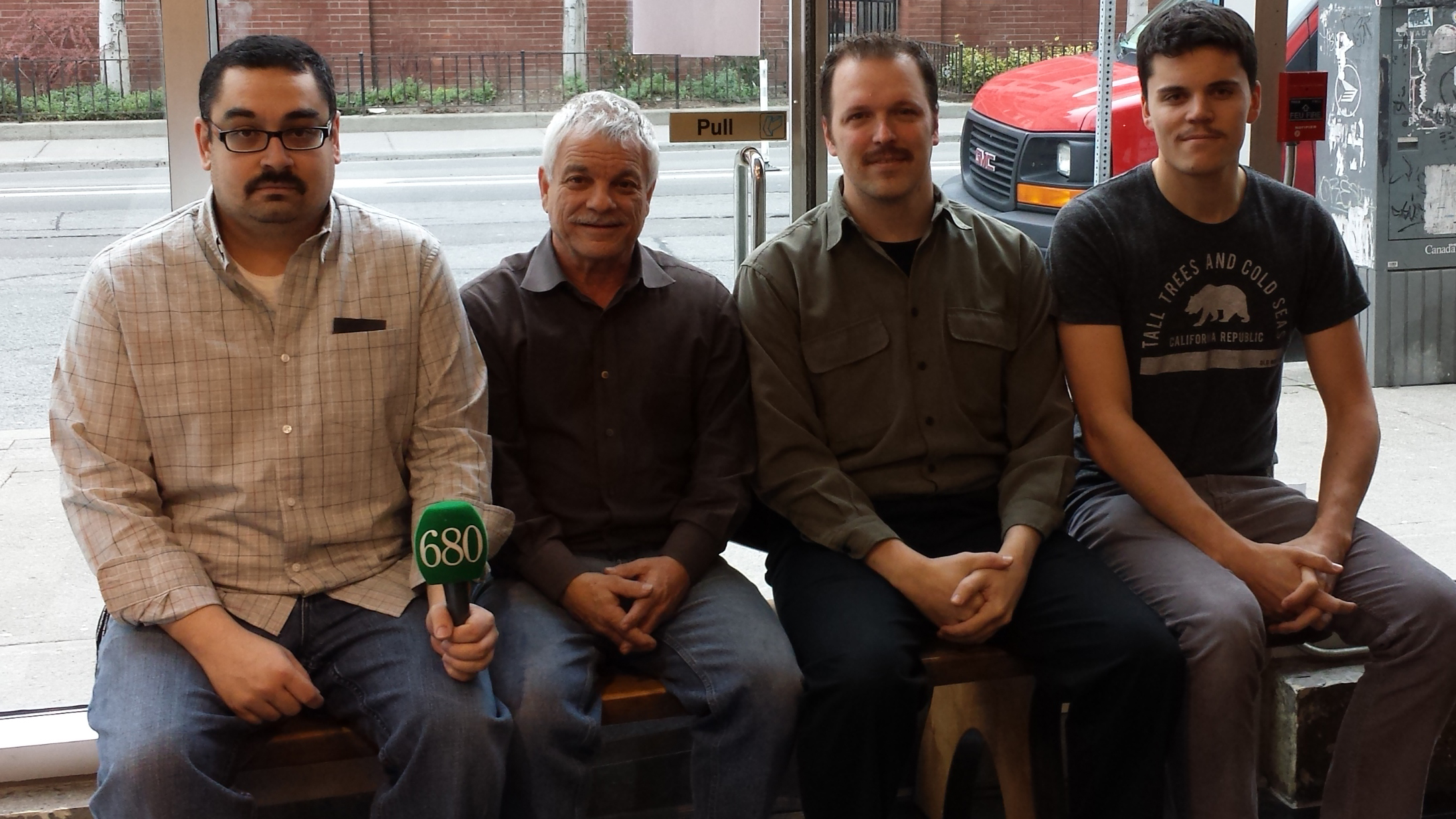 Good news! No mo' mustaches grace our newsroom - 680 NEWS