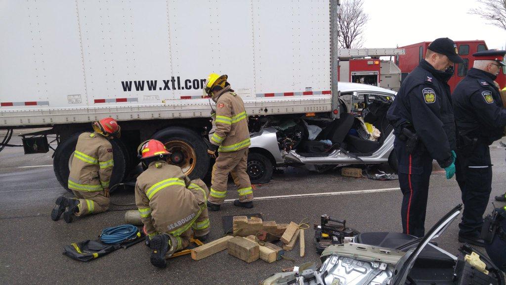Car Crash Brampton