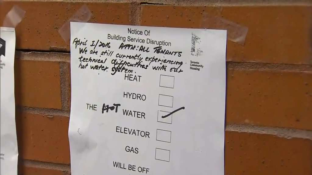 Two tch buildings experiencing hot water issues for almost for 25 henry lane terrace