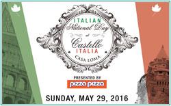 Italian National Day at Castello Italia @ Casa Loma | Toronto | Ontario | Canada