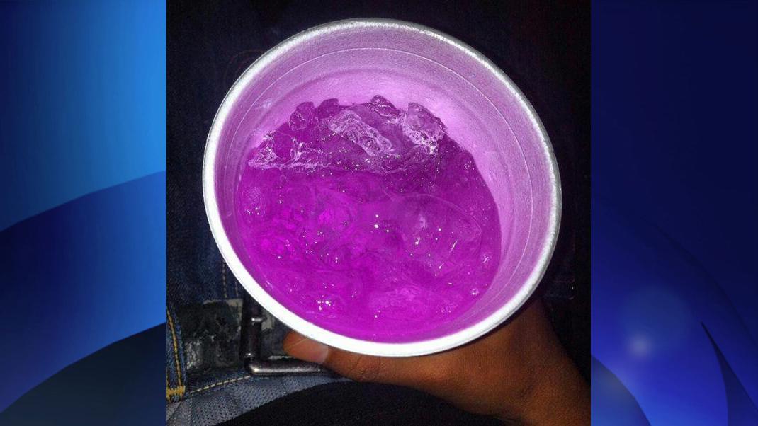 Как сделать purple drink в россии