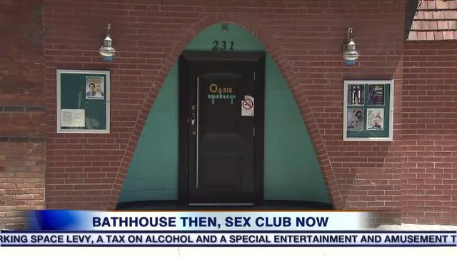 Local sex club or bathhouse