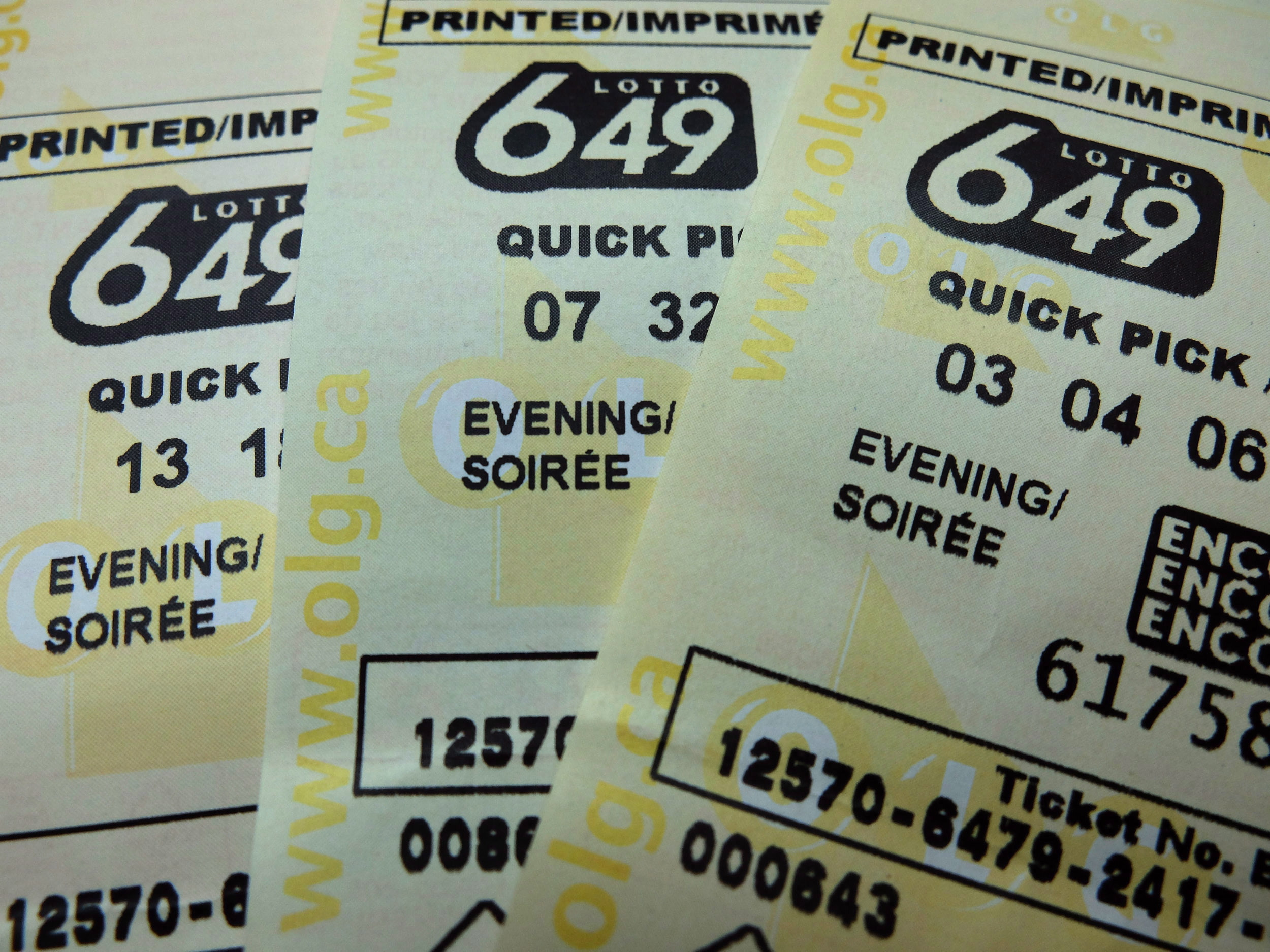 Lotto 649 canada atlantic 49 prizes
