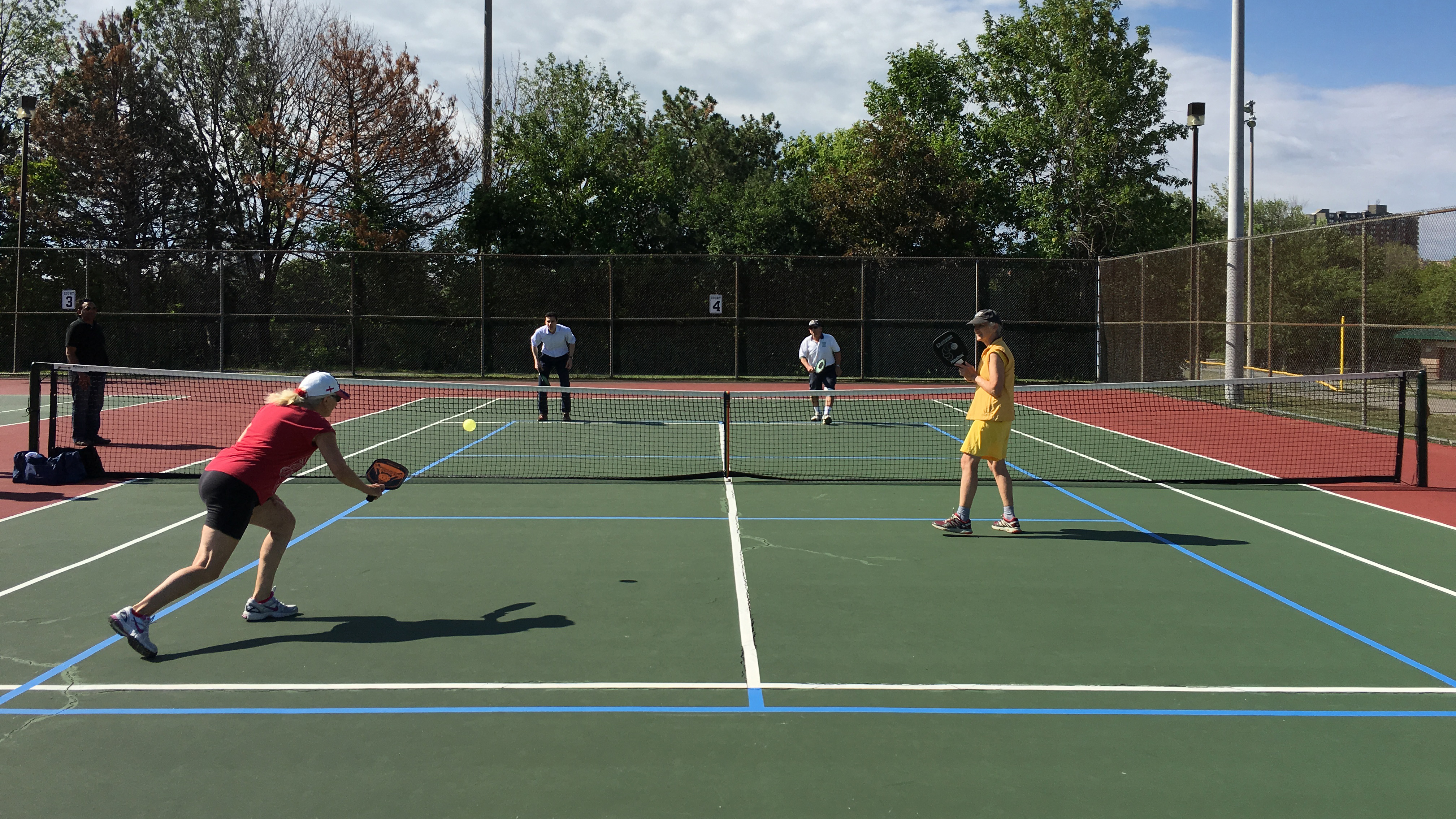 Pickleball Taking Over Some Gta Tennis Courts 680 News