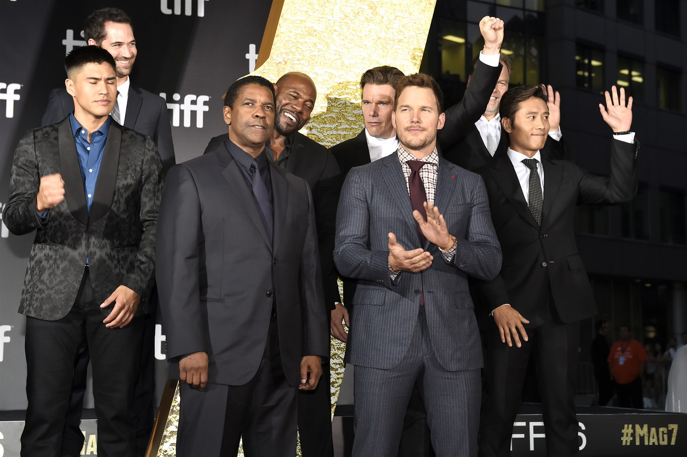 'The Magnificent Seven' cast say the film's diversity was ...