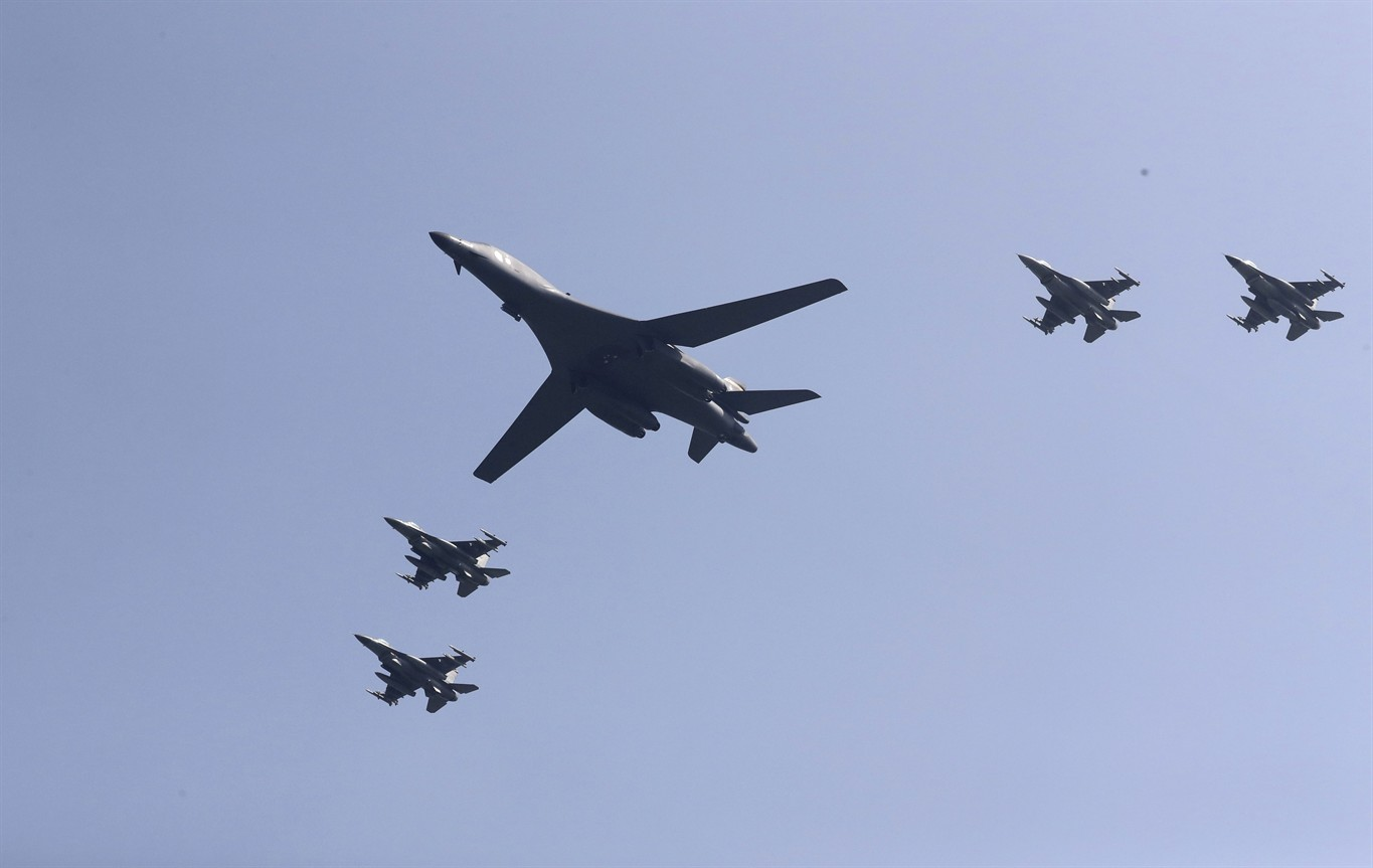 US flies bombers over SKorea in show of force against North